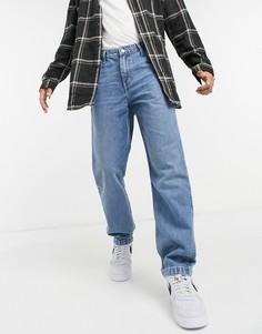 Суженные книзу синие джинсы в рабочем стиле Levis Youth-Голубой Levis®