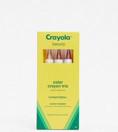 Три косметических карандаша Crayola (Sunset Shimmer)-Мульти