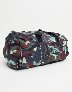 Спортивная складывающаяся сумка Kipling-Серый