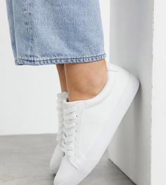 Белые кроссовки для широкой стопы ASOS DESIGN Demi-Белый