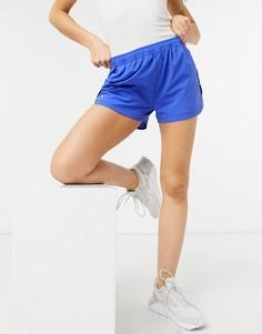 Фиолетовые шорты в спортивном стиле Lacoste-Сиреневый