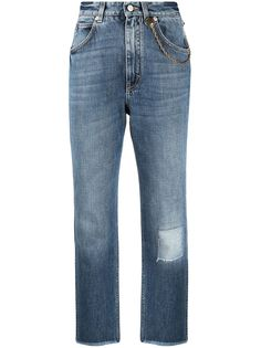 Givenchy укороченные джинсы средней посадки