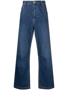 MSGM широкие джинсы с карманами