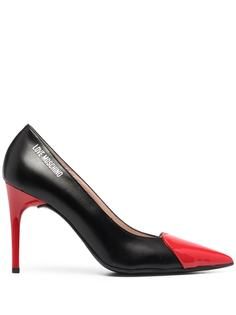 Love Moschino декорированные туфли-лодочки