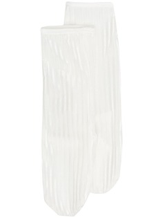 Simone Wild бархатные носки в рубчик
