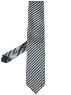 Tom Ford жаккардовый галстук в диагональную полоску