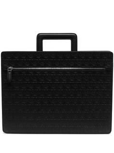 Salvatore Ferragamo сумка для ноутбука с тиснением Gancini