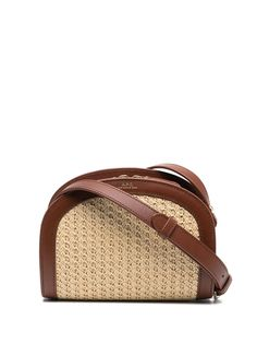 A.P.C. плетеная сумка на плечо Demi-Lune