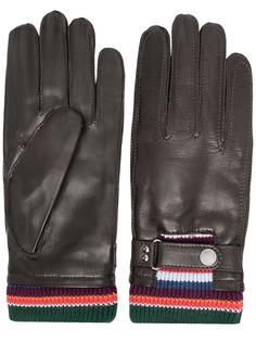 Paul Smith перчатки со вставками