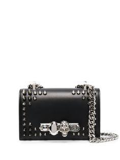 Alexander McQueen сумка через плечо с заклепками-шипами