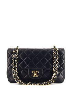 Chanel Pre-Owned сумка на плечо Timeless Classic Flap 1991-го года
