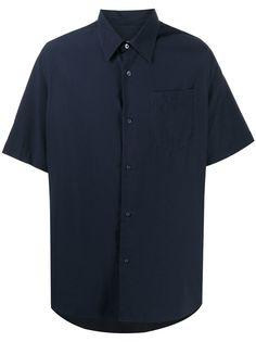 AMI Paris рубашка с короткими рукавами и нагрудным карманом