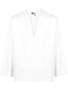 Isabel Marant рубашка с длинными рукавами и вышивкой