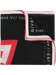 Givenchy платок с логотипом