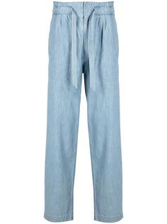 Isabel Marant прямые джинсы с кулиской