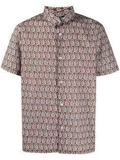 A.P.C. рубашка с короткими рукавами и принтом пейсли