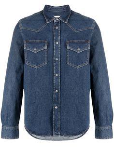 Diesel джинсовая рубашка на пуговицах