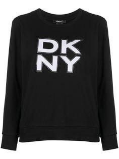DKNY толстовка с логотипом