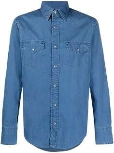 Tom Ford джинсовая рубашка на кнопках