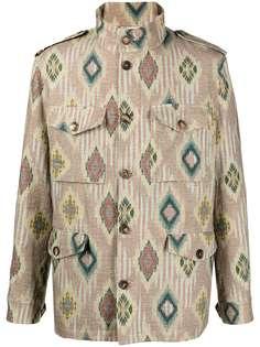 Etro жаккардовая куртка