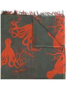 Uma Wang платок с принтом