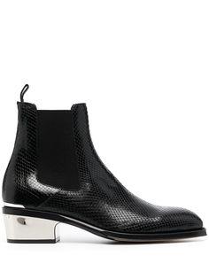 Alexander McQueen ботинки с квадратным носком