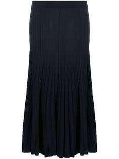 P.A.R.O.S.H. трикотажная юбка с плиссировкой