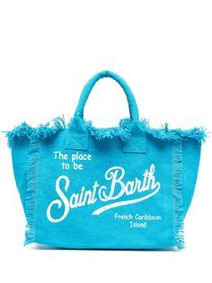 Mc2 Saint Barth пляжная сумка с логотипом