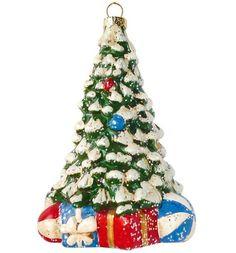 Елочное украшение Новогодняя сказка Новогодняя елочка 12.5 см