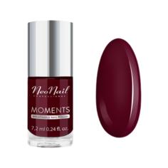 Лак NeoNail Moments, 7.2 мл, оттенок 7077-7 wine red