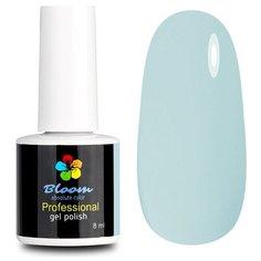 Гель-лак для ногтей Bloom Базовая палитра (классические), 8 мл, оттенок небесный голубой