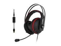 Наушники ASUS TUF Gaming H7 Black-Red 90YH01VR-B8UA00