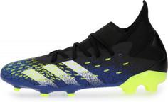 Бутсы мужские adidas Predator Freak 3 FG, размер 44.5