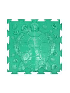 Массажный коврик Ортодон Черепашка жесткая зеленая