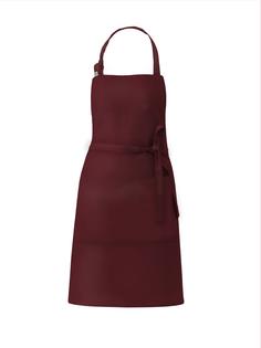 Фартук кухонный размер М бордовый sfer.tex 1765932