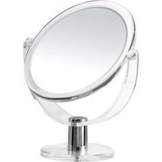 Зеркало косметическое настольное Kida 1х/3х-увелич. прозрачный Ridder