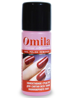 Средство для снятия всех типов лака OMILA Красная роза 105 мл