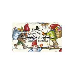 Florinda, Мыло «Счастливого Рождества», Корица и цитрус, 100 г