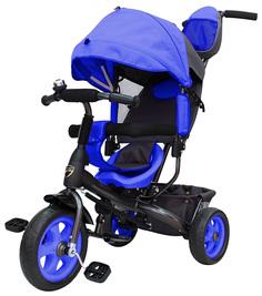Велосипед трехколесный Galaxy Лучик Vivat синий