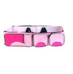 Сумка-люлька трансформер 2 в 1 Markethot Baby Розовый/Фуксия