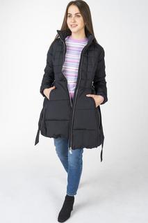 Пуховик-пальто женский Incity 1.1.2.18.01.13.00201 черный 40 RU