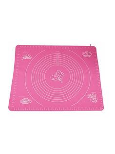 Силиконовый коврик для раскатывания теста, 70х50 см (Цвет: Розовый ) Markethot