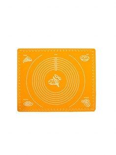 Силиконовый коврик для раскатывания теста, 30х40 см (Цвет: Оранжевый ) Markethot