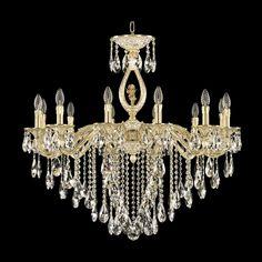 Хрустальная люстра 71402/12/300 B GW FA3B Bohemia Ivele Crystal