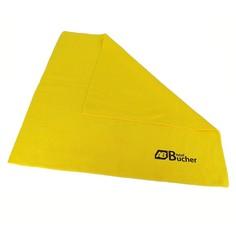 Салфетка для уборки из микрофибры Prof 40х40 см, 350 г, желтый, 1 шт/уп, Adolf Bucher