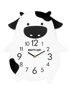 Часы детские настенные KETT-UP DESIGN ZOO Коровка