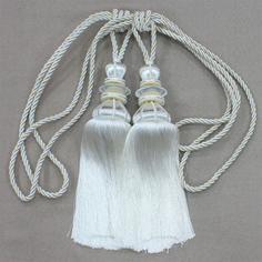 Кисти для штор Ajur, 60 см, 2 шт
