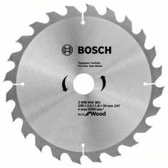 Пильный диск ECO WO 230x30-24T 2608644381 Bosch
