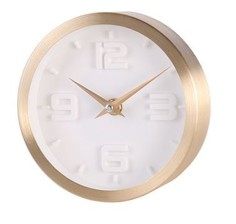 """Часы настенные кварцевые """"Стиль золотой"""" Феникс Present 79657"""