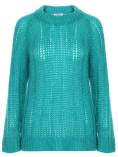 Вязаный свитер из мохера Prada
